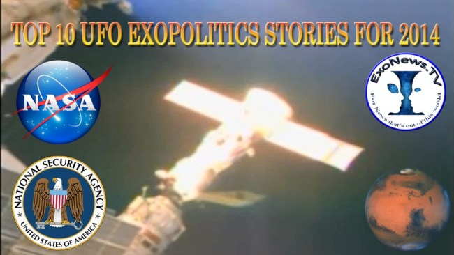 Top 10 Exopolitics Stories