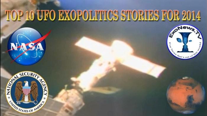 Top 10 Exopolitics Stories