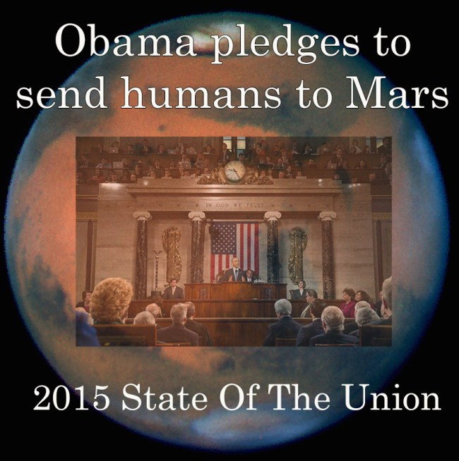 Obama to put humans on Mars