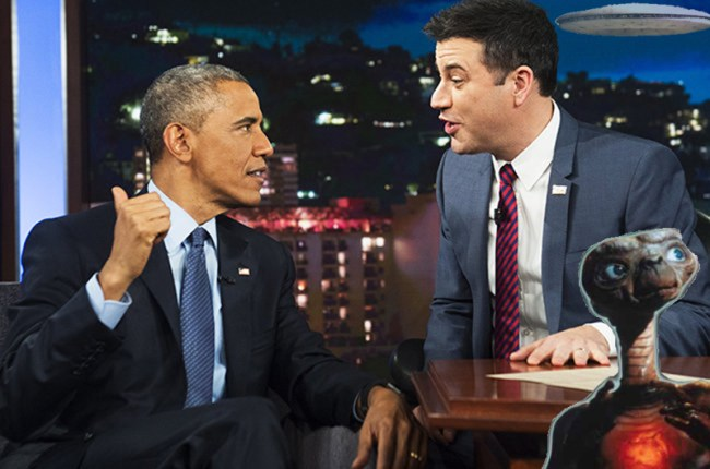 US-POLITICS-OBAMA-KIMMEL