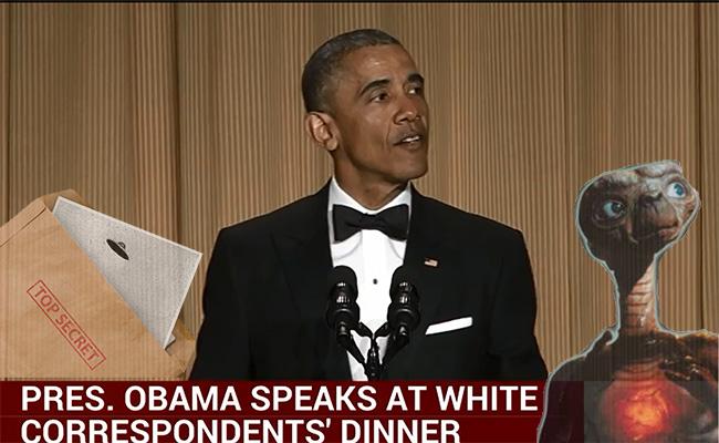 Obama at Correspondents Dinner