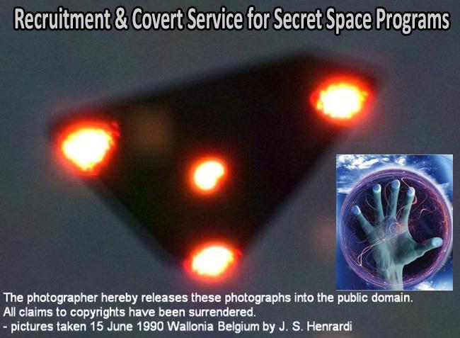 black triangle UFO