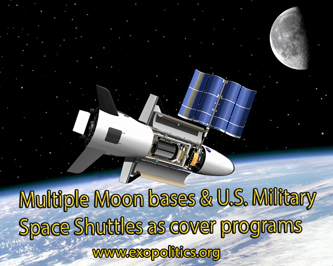 Moon and Milititary Space Program