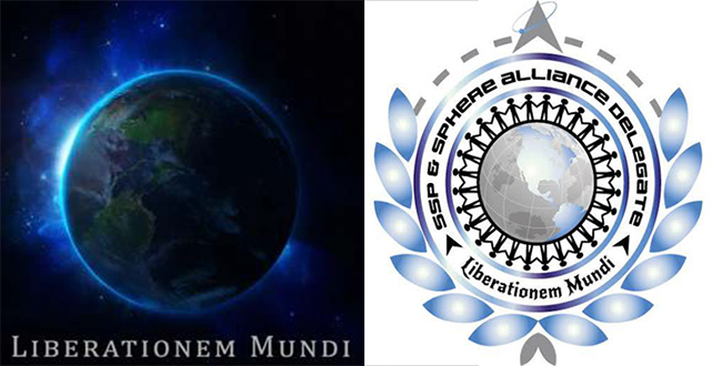 Sphere Alliance Logo and Earth Liberation