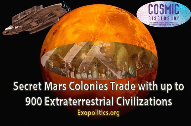 Mars Colonial Trade