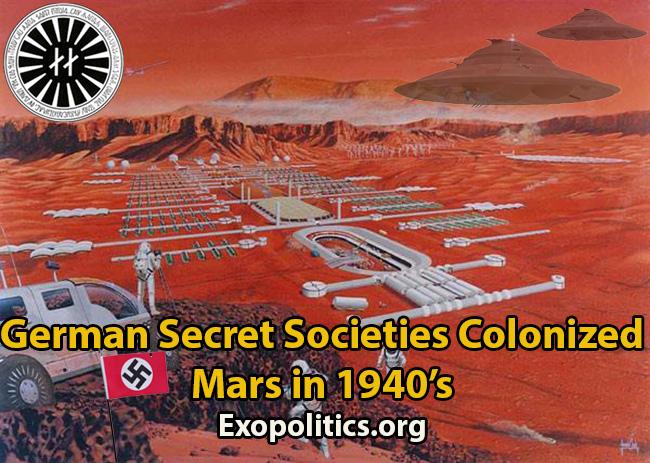 Nazi Base on Mars
