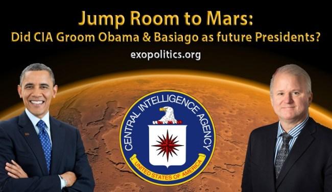 Obama and Basiago and Mars