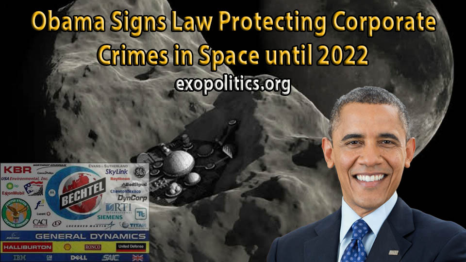 Obama signs law protecting corporate crimes