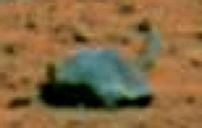 Plesiasaur on Mars