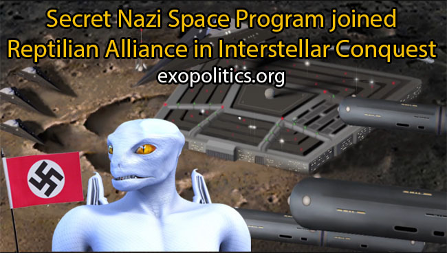 Nazis joined Reptilian Alliance