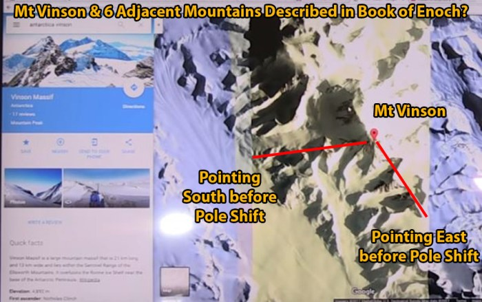 Antarctica and Imprisoned Fallen Angels from the Book of