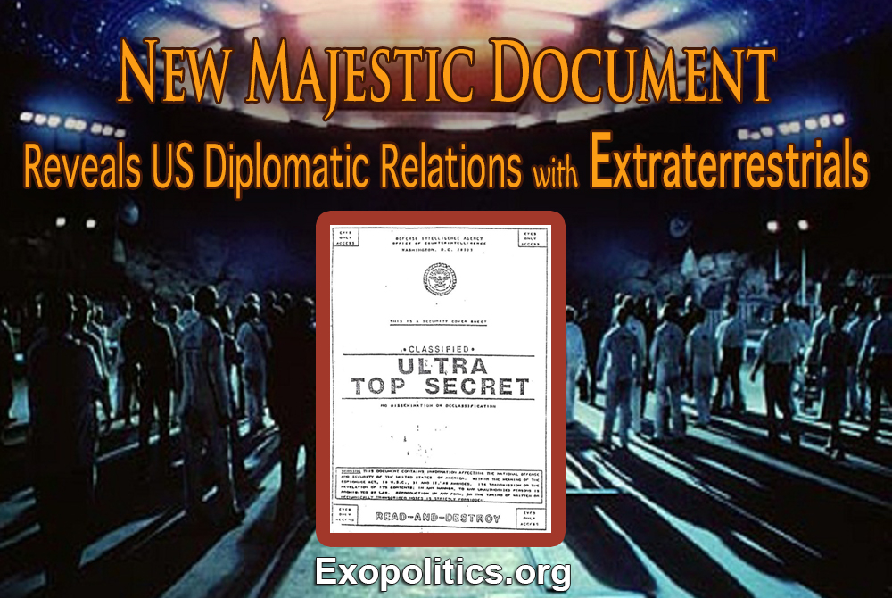 New Majestic Document Reveals US Diplomatic Relations with Extraterrestrials