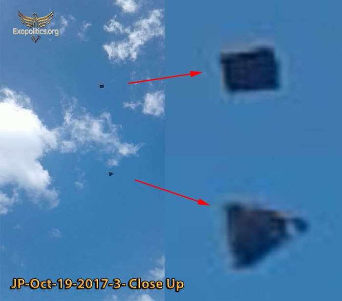 Преднамеренное раскрытие: антигравитационное судно появляется вблизи ВВС США JP-3-close-up