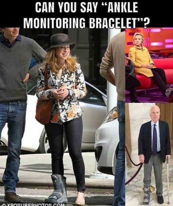 """Résultat de recherche d'images pour """"Hillary Clinton bracelet electronique"""""""