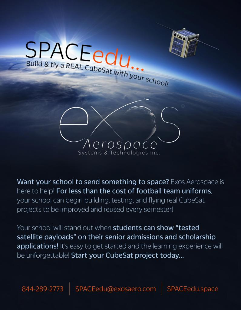 SPACEedu - Education Flyer Front