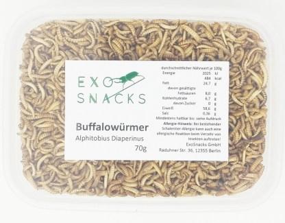 essbare Buffalowürmer