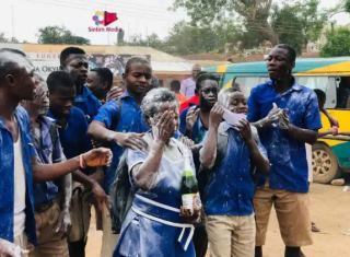 57-year-old Elizabeth Yamoah completes Junior Secondary School