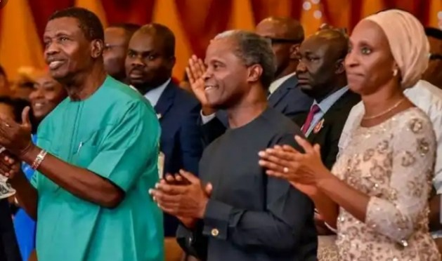 """""""Until Yemi Osinbajo is suspended, i am never stepping foot into any RCCG Church"""" – Nigerian man"""
