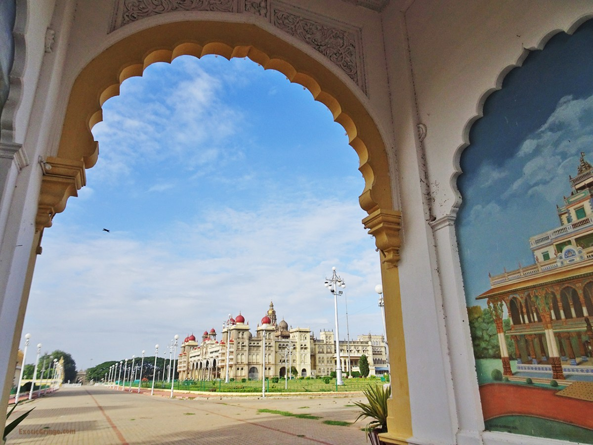 Mysuru Palace - back gate