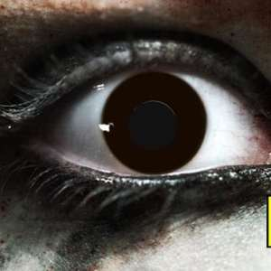 Black Out Gothika Contact Lenses