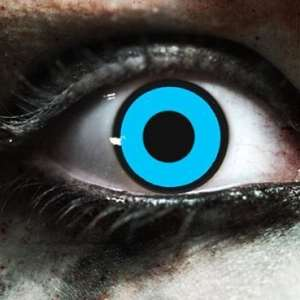 Blue Manson Gothika Contact Lenses