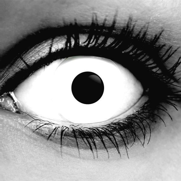 Gothika White Zombie Contact Lenses