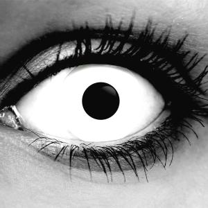 Gothika White Zombie Contact Lenses
