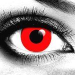 Gothika Red Vampire Contact Lenses