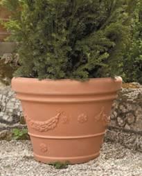 Italy idra plastic pot