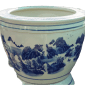 porcelain pot