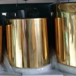 Stainless Steel Gold Finish