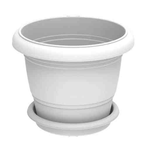 24in CCC white Casmoplastic Plastic pot