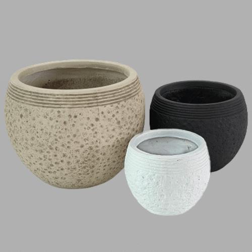 Fiber clay Planter PotFiber clay Planter Pot
