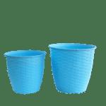 Plastic Pot Blue