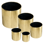 Stainless steel Gold Finish plant pot