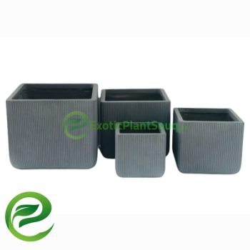 Fiber Clay flower Pots
