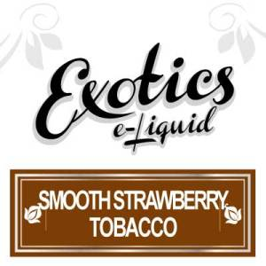 Smooth Strawberry Tobacco e-Liquid