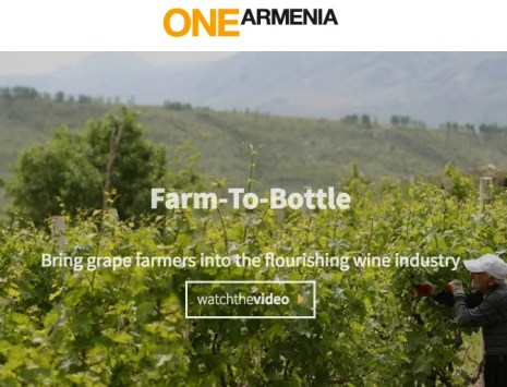 One Armenia Farm to Bottle