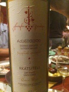 Archil Natsvlishvili Rkatsiteli natural wines georgian wine