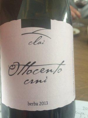 Clai Ottocento Crni Berba Croatian Wine