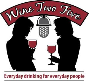 wine two five logo Stephanie Davis and Valerie Caruso