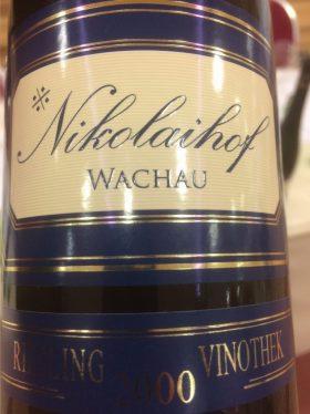 Nikolaihof Riesling Vinothek Vinart Grand Tasting