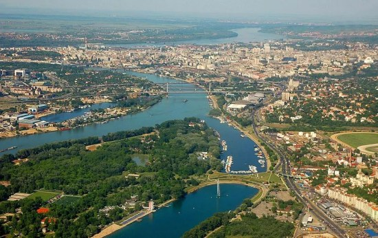 Belgrade Serbia City View