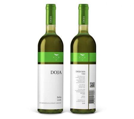 vinarija doja belo 2016 serbian white wine