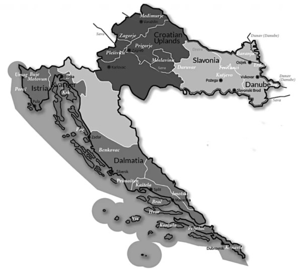 croatia wine regions