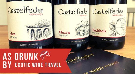 Castelfeder Pinot Nero Project