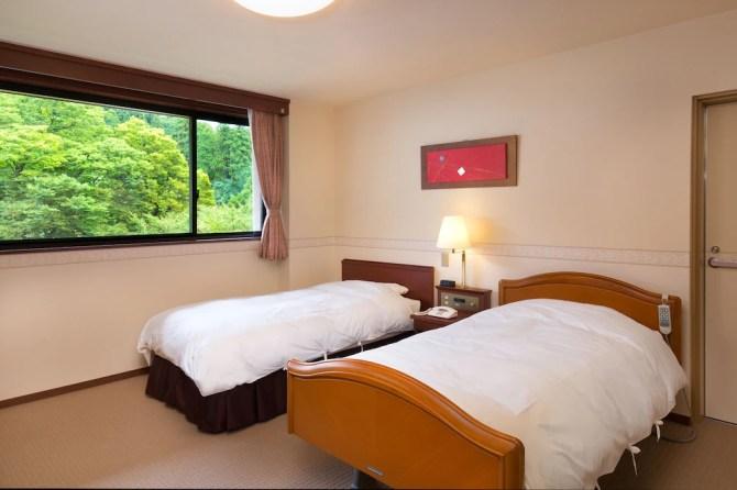 石川県・山中温泉 吉祥やまなか【アクセシブルルーム】心のベッドルーム