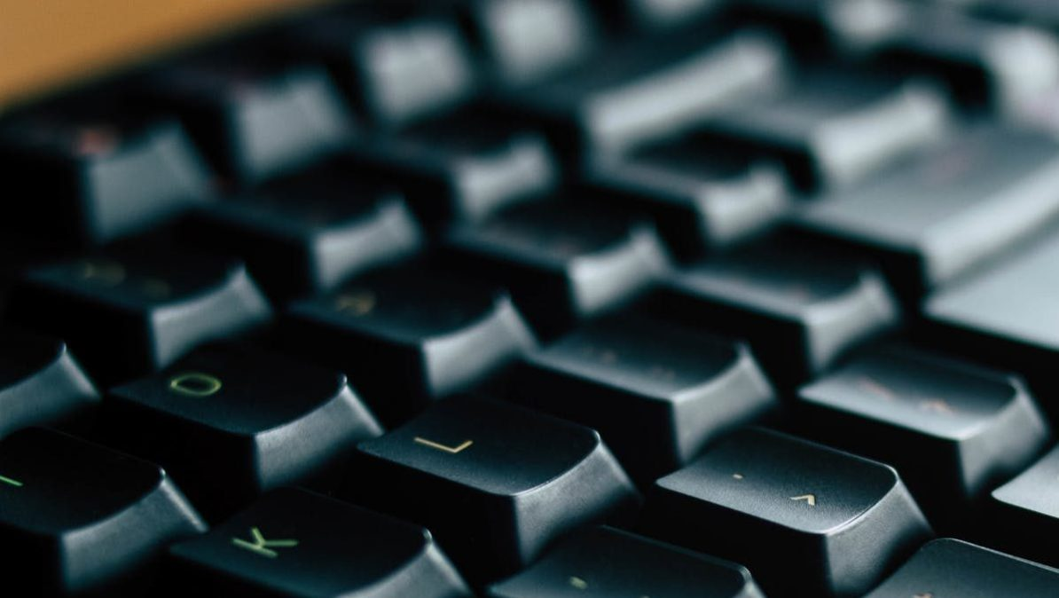 close up photo of black razer computer keyboard