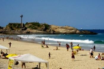 West end, Ipanema Beach