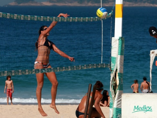 Spike, Ipanema Beach